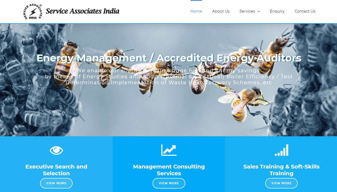 Associates website designs