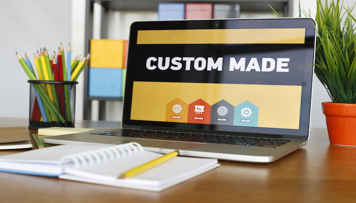 Custom made websites